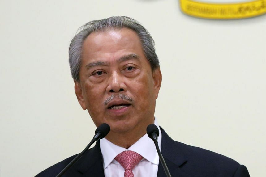 Mr Muhyiddin also said that economic sectors involving close human contact and mass gatherings were still prohibited.