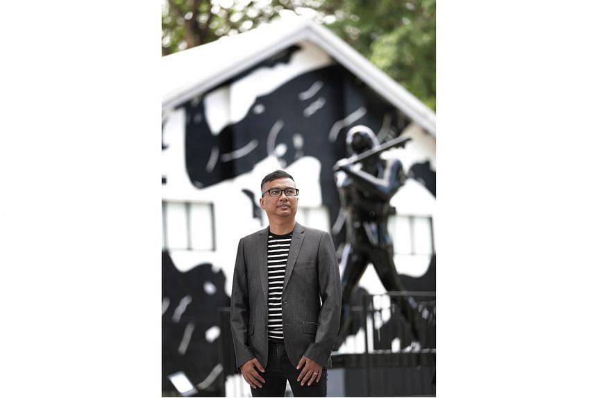 Curatorial director and partner Khairuddin Hor.