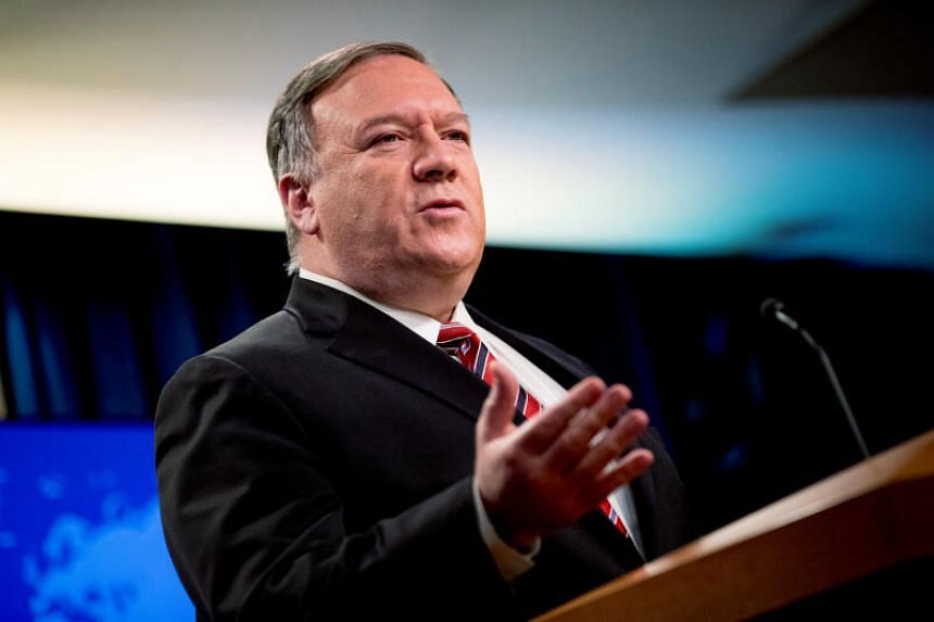 """Secretary of State Michael Pompeo warned that the US could try to force a """"snapback"""" of sanctions against Teheran."""