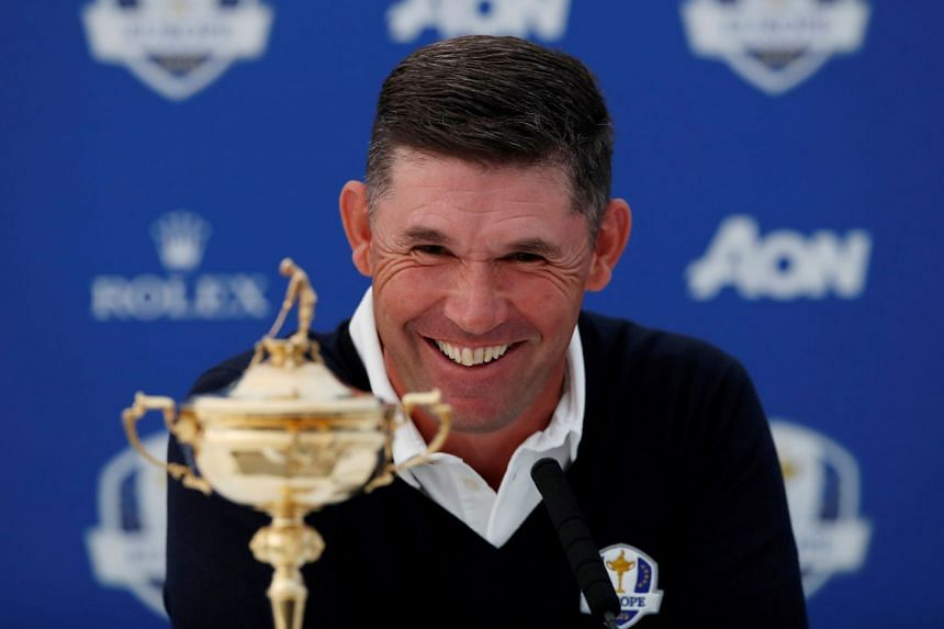 Harrington reveals Donald as Ryder Cup vice-captain … by accident