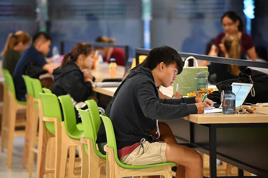 """Universities here said they are committed to selecting students based on aptitude and not just grades. On having to conduct online interviews, SMU said it found that the applicants, """"being Gen Z, are the true digital natives and hence... a lot more e"""