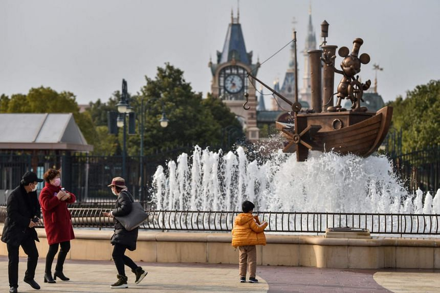 The Chinese government has asked Disney to cap attendance at 30 per cent of capacity, or roughly 24,000 people.