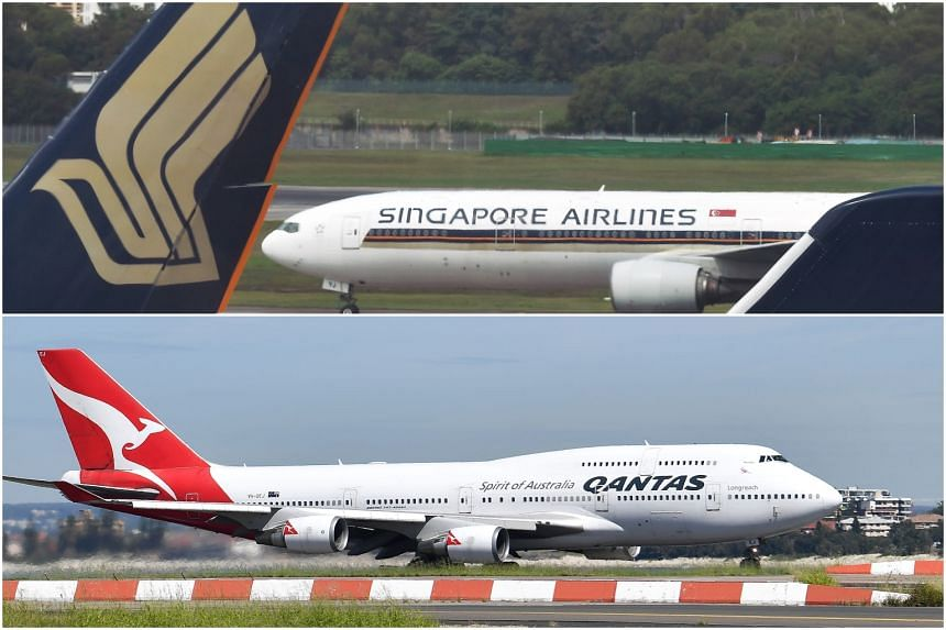 Qantas will carry seafood and other produce from Queensland while SIA will carry food from South Australia.