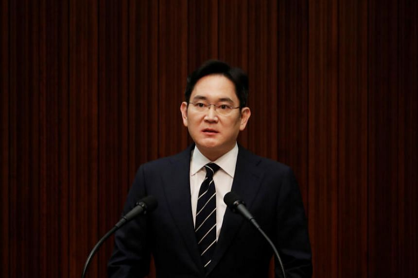 Samsung's Mr Jay Y. Lee had been embroiled in a bribery scandal involving South Korea's impeached president, Park Geun-hye.
