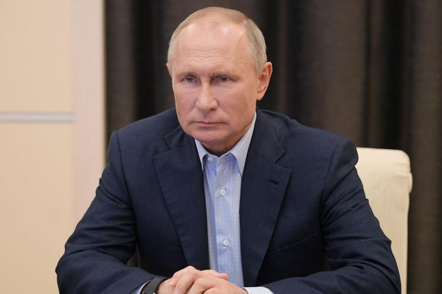 Russian President Vladimir Putin S Approval Rating Dips To Lowest In 20 Years Poll Europe News Top Stories The Straits Times