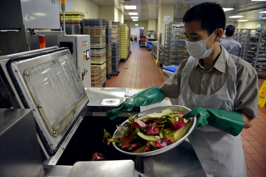 Food waste still accounts for about 10 per cent of all waste generated in Singapore.