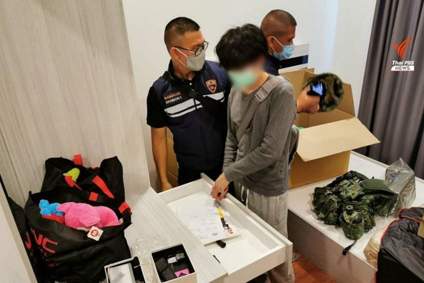 Mr David Han was detained in a hotel in Chiang Rai province, and is now being held at Bangkok's immigration detention centre.