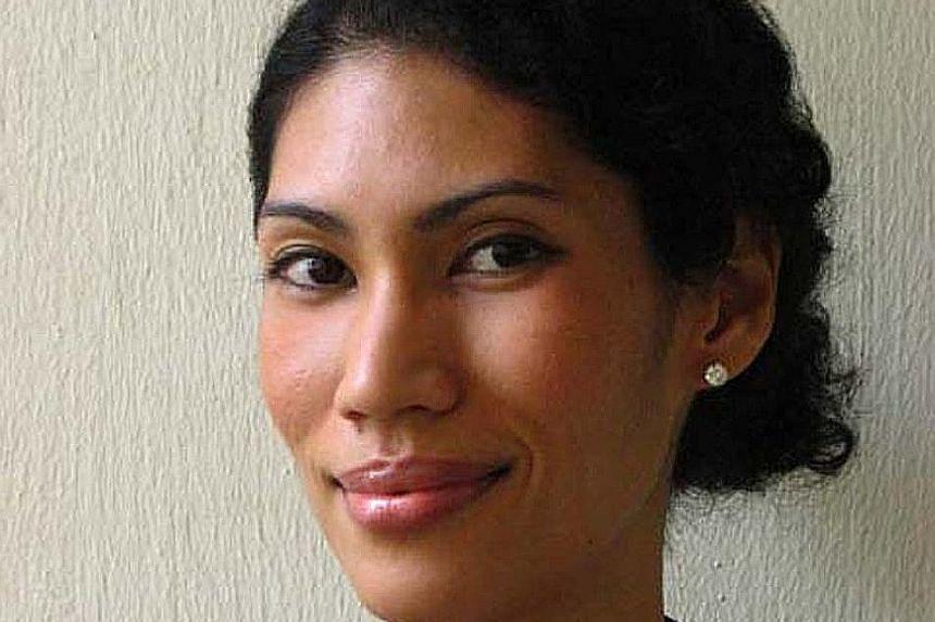 Singapore Literature Prize winner Melissa De Silva.