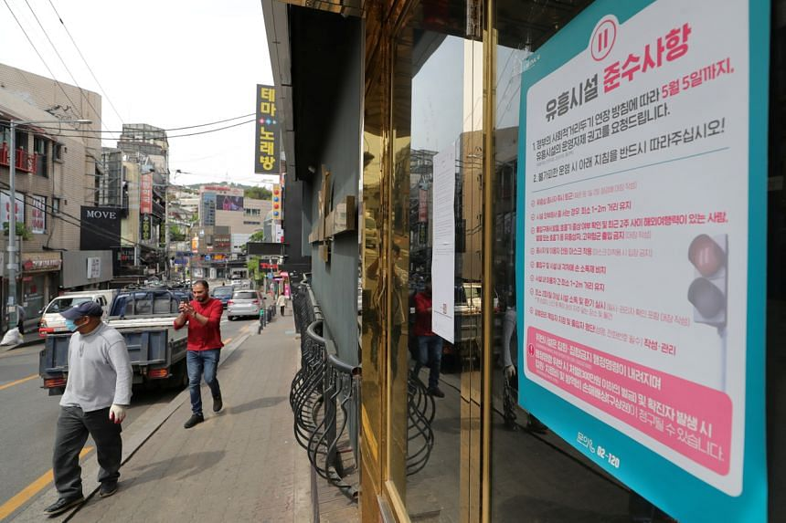 At least 15 people have confirmed cases linked to the clubs in Itaewon.