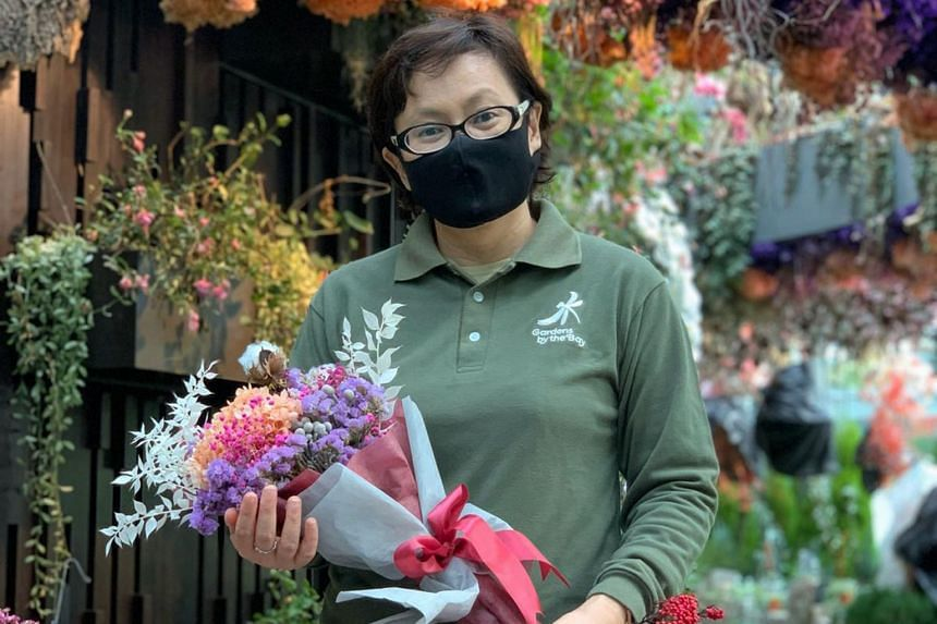 Buy Mother S Day Floral Arrangements From Gardens By The Bay Home Design News Top Stories The Straits Times