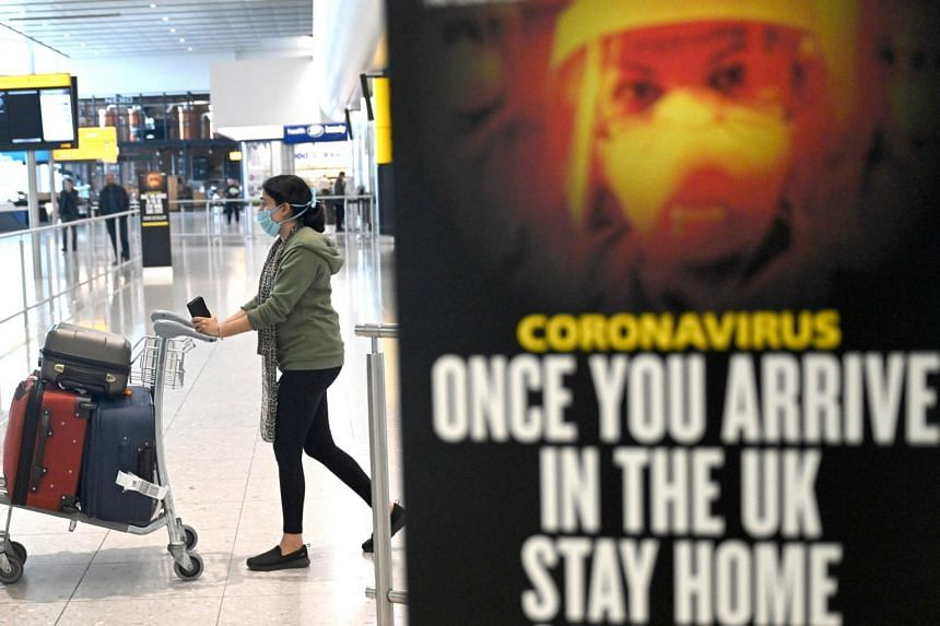 Travellers will have to fill in a digital form with details of where they plan to self-isolate themselves for the duration of the quarantine.