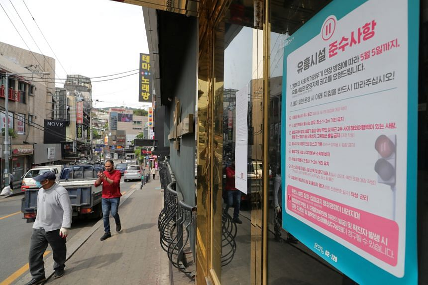 The total number of cases linked to nightclubs in Itaewon in Seoul increased to 40.