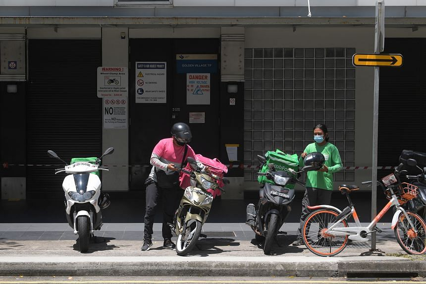 Some dealers are still delivering bikes as two-wheelers are essential to food delivery firms, which are still allowed to operate during the circuit breaker period.