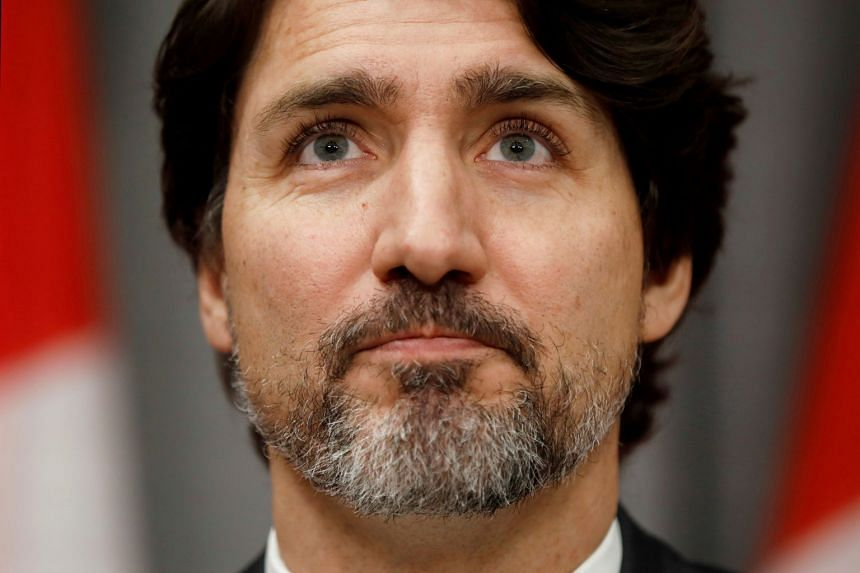 Trudeau (above) expressed concern about loosening lockdown measures in Montreal.