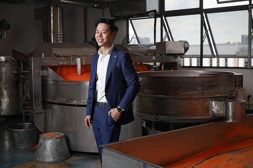 Cheng Yew Heng's third-generation business owner John Cheng left his banking job to help out in his family's 73-year-old traditional sugar-making business. His grandfather started the company in 1947, producing hawthorn, but in the 1950s, Mr Cheng's