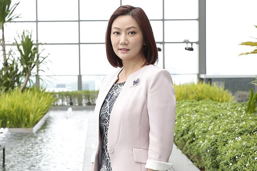 MS CHRISTINE LI (above), Cushman & Wakefield's head of research for Singapore and South-east Asia.