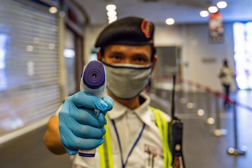 Tests on all security guards have been deemed necessary given their close contact with people.