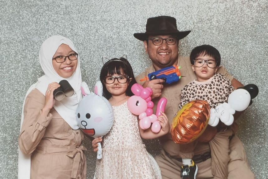 The coronavirus pandemic worries Ms Azleen Khamis, whose daughter Asfa's blood cancer is in remission. She and her husband, Mr Horis Hosri, also have a son, Haris, three.