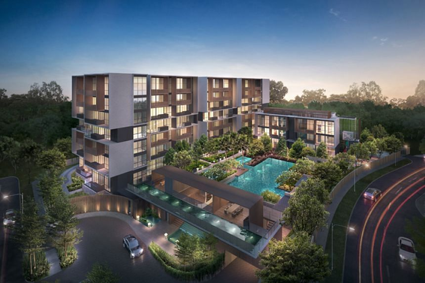 The group said that its Singapore development properties, like Kandis Residence, remains on track.