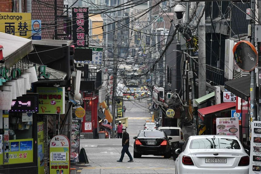 Most of the new cases were linked to an outbreak at several Seoul nightclubs and bars.