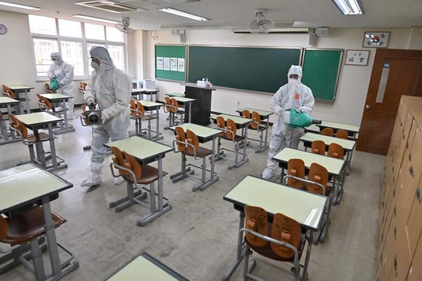 The delayed school reopening came amid growing concern about the Itaewon cluster infection.