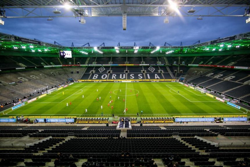 Germany's huge stadiums will remain empty for the foreseeable future.