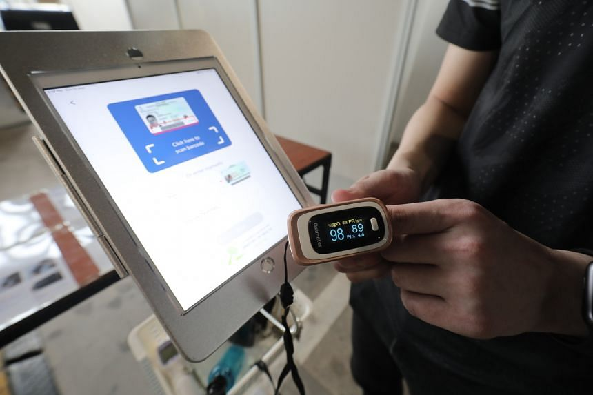 Normal pulse oximeter readings usually range from 95 to 100 per cent.