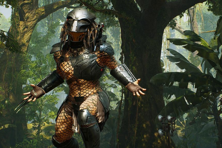 In the game, one player can take on the role of Predator.