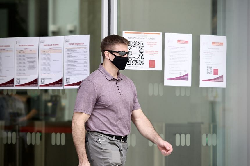 American pilot Brian Dugan Yeargan had ignored a stay order, leaving his room at the Crowne Plaza Changi Airport hotel on April 5.