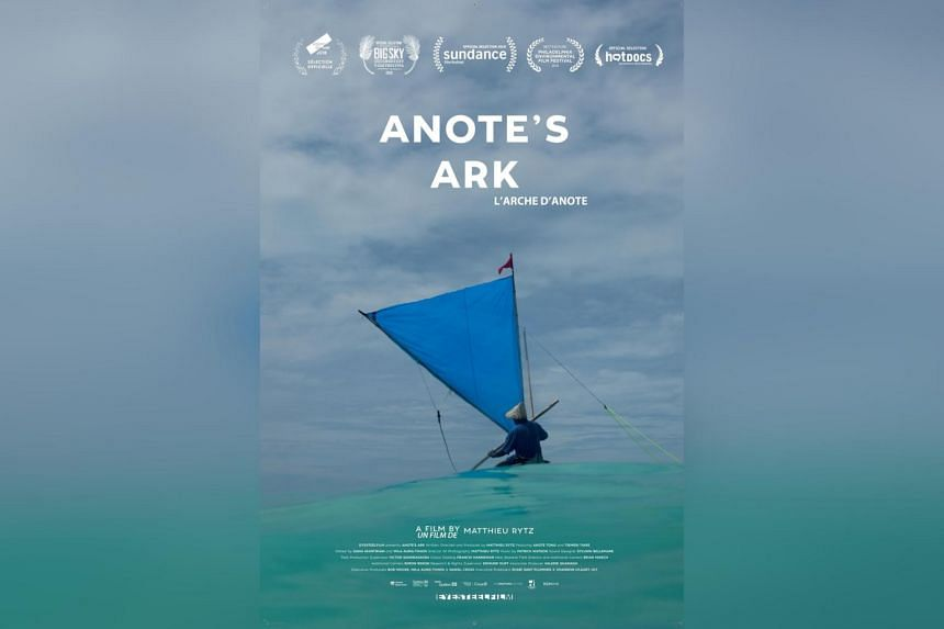 Anote's Ark is about Kiribati, a country in the central Pacific Ocean, and its fascinating former president, Anote Tong.