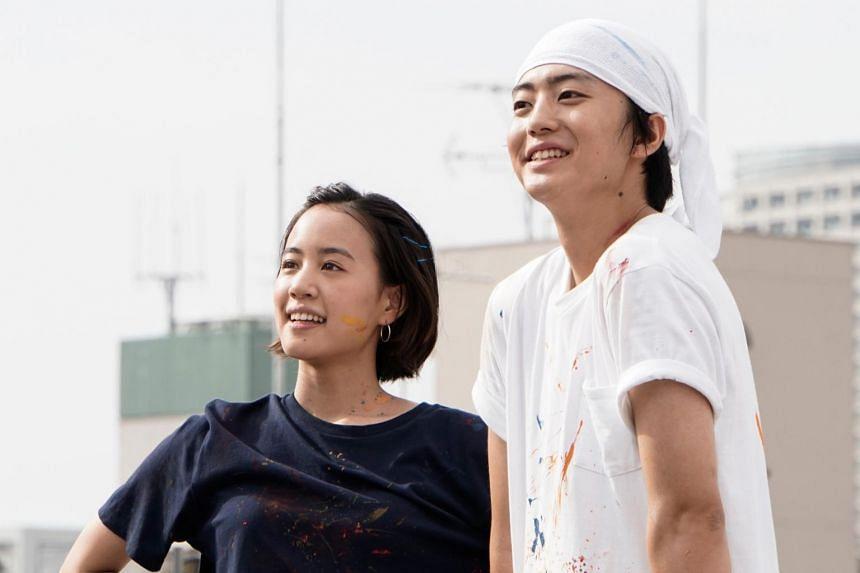 Kentaro Ito and Shizuka Ishibashi (left) star in Tokyo Love Story 2020.