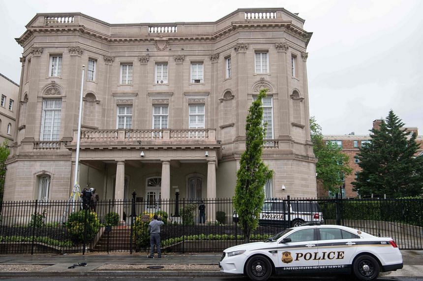 Cuba had urged a terrorism probe over gunfire that hit its embassy in the US capital.