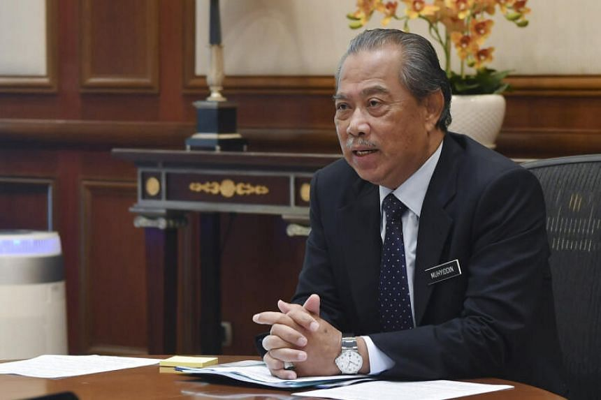 Prime Minister Muhyiddin Yassin's already slim grip on power is showing signs of slipping after an MP from his Parti Pribumi Bersatu Malaysia appeared to desert him on Wednesday, claiming the party is on the path to irrelevance.