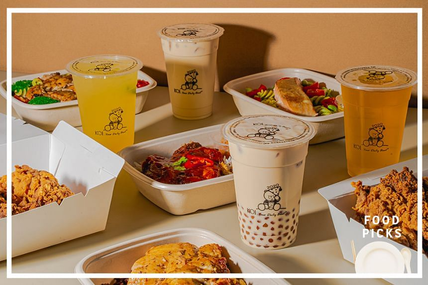 Taiwanese bubble tea brand Koi has joined hands with online restaurant Grain to offer its bubble tea drinks during Singapore's circuit breaker period.