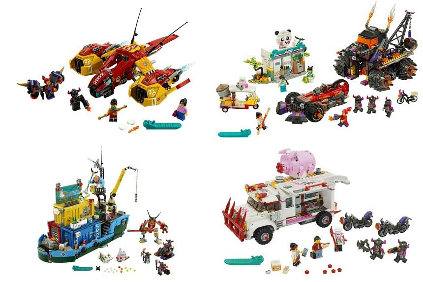 Lego says its new range is rooted firmly in China's culture and values.
