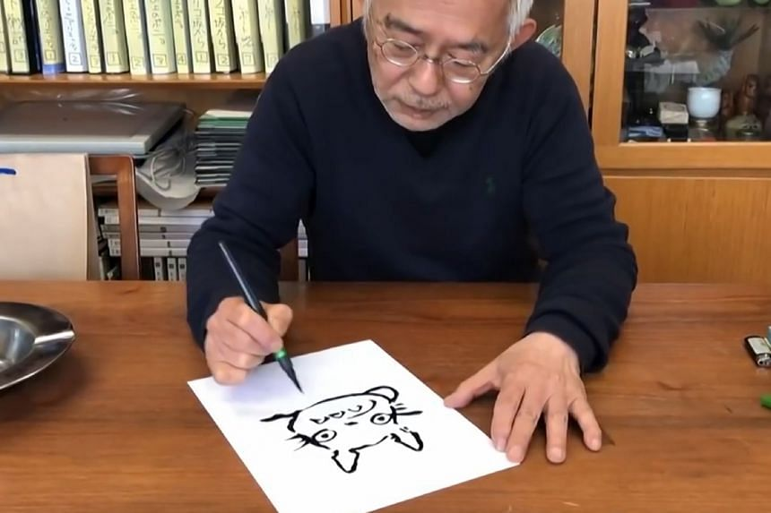 Animation veteran Toshio Suzuki gives tips on how best to render Totoro on paper.