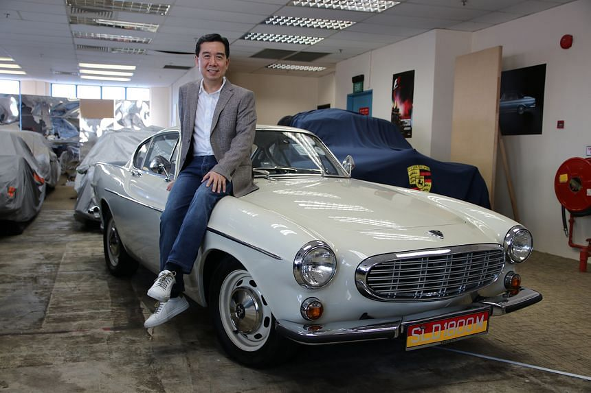 Lawyer Christopher Yong Shu Wei paid $60,000 to restore the 1967 Volvo P1800.