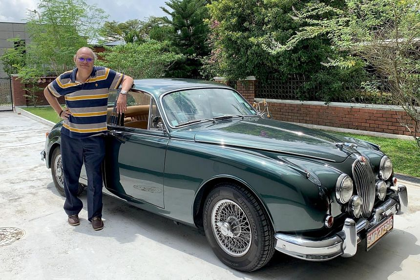 Retired diplomat Bernard Baker bought a 1964 3.8-litre Mk in South Africa and had it fully restored in New Zealand.