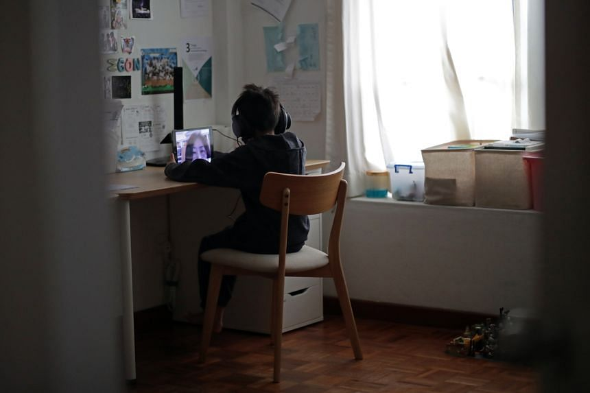 The shift to home-based learning underscored gaps, as a number of students did not have devices at home.