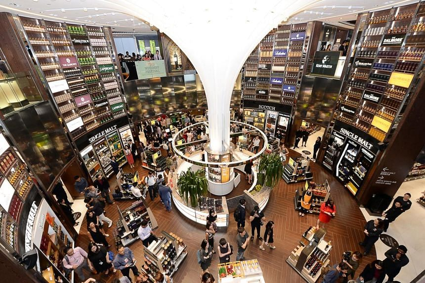 DFS will be making its exit from the airport's wines and spirits concession on June 8, 2020.