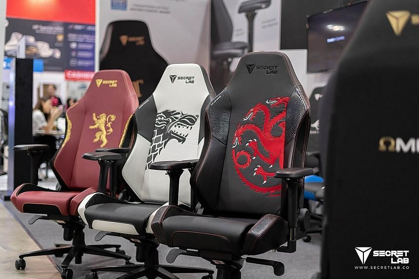 Gaming chair company Secretlab partners Game of Thrones to produce chairs emblazoned with the house sigils from the hit television series.