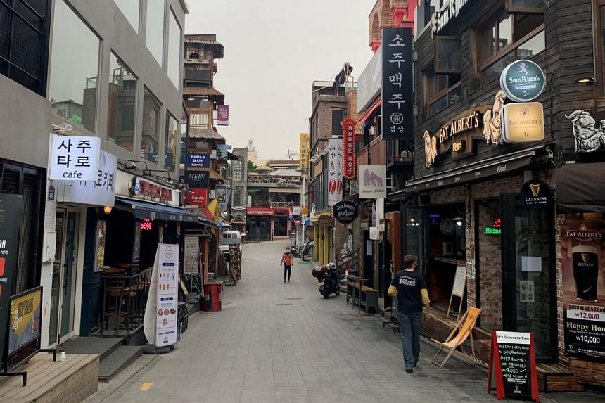 The government has called on those who visited Itaewon between April 24 and May 6 to quickly undergo testing.
