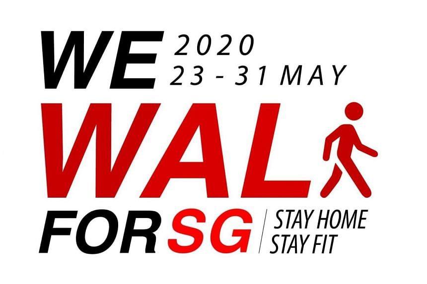 Registration for WeWalk for SG starts on May 18.