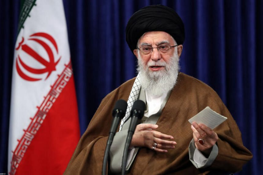 Khamenei said Americans' actions in Afghanistan, Iraq and Syria had led to them being hated.