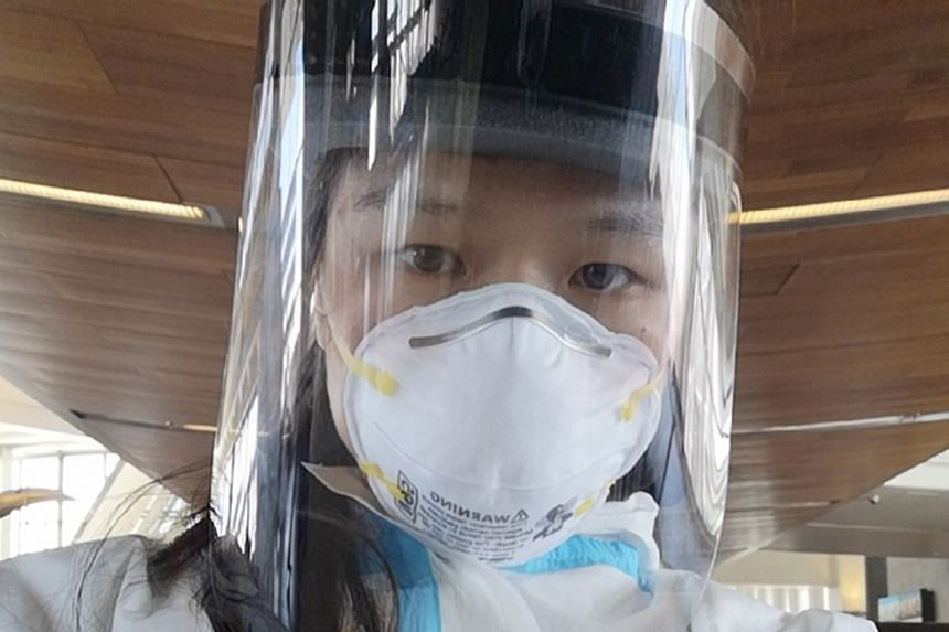 Even though Zhang Weili wore a disposable protective suit, face shield and N95 mask as she made her way back to China after a successful UFC strawweight title defence in March, fans still recognised her.