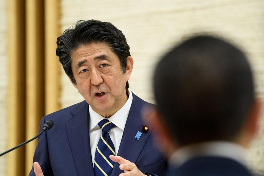 Japan's Prime Minister Shinzo Abe's government is seen as slow and out of touch in its pandemic response.