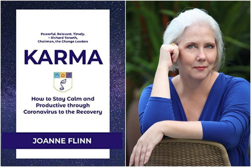 Joanne Flinn's Karma: How To Stay Calm And Productive Through Coronavirus To The Recovery has sold more than 150 copies.