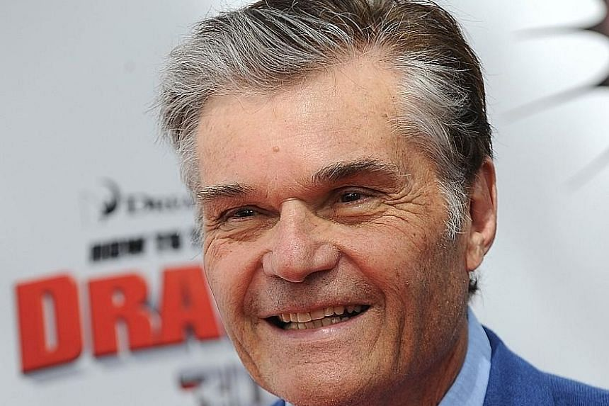 The Emmy Award-nominated comic actor Fred Willard.