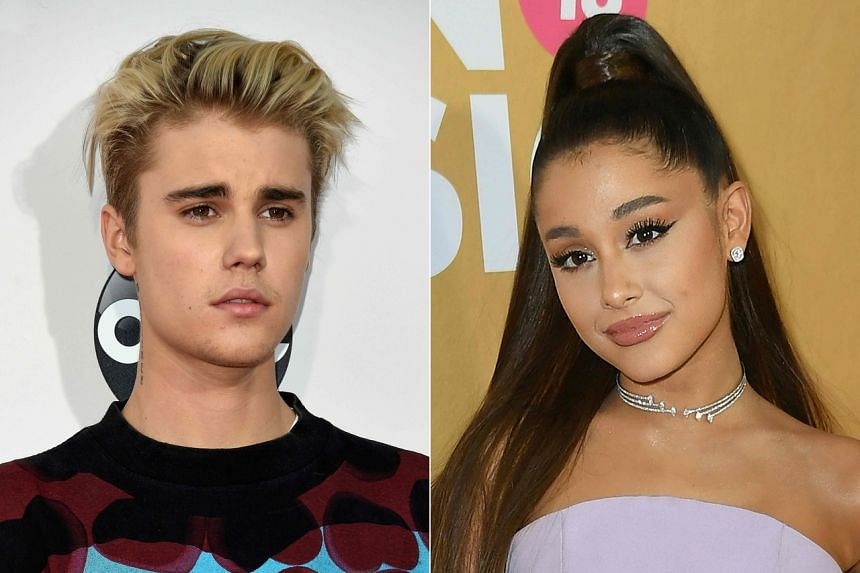 Justin Bieber and Ariana Grande are accused of buying their No. 1 spot.