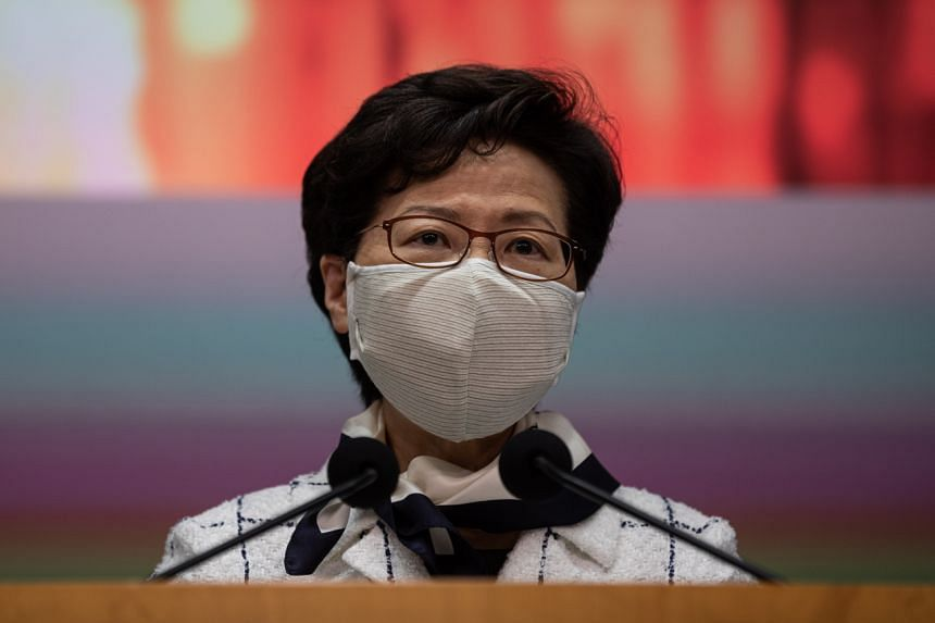 Hong Kong leader Carrie Lam said there are likely some asymptomatic transmission of the virus.